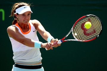 Lauren Davis Sony Ericsson Open: Day 3