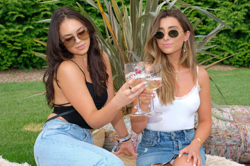 Lauren Elizabeth Moet & Chandon Celebrates #REVOLVEintheHamptons Closeout Party
