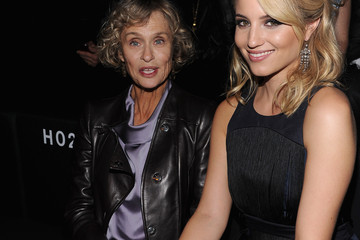 Lauren Hutton Front Row at Giorgio Armani SuperPier Show