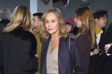 Lauren Hutton Calvin Klein Collection - Front Row - February 2017 - New York Fashion Week