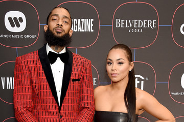 Lauren London Nipsey Hussle Warner Music Group Hosts Pre-Grammy Celebration - Arrivals