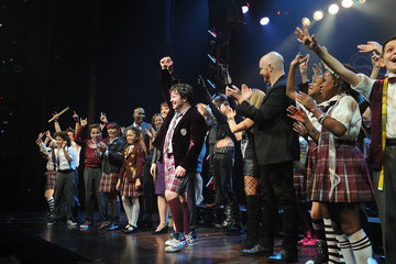 Laurence Connor 'School of Rock' Broadway Opening Night - Arrivals and Curtain Call