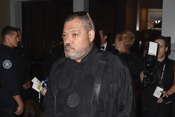 Laurence Fishburne 75th Annual Golden Globe Awards - Press Room