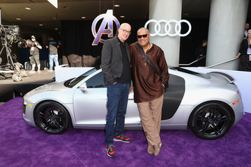 Laurence Fishburne Audi Arrives At The World Premiere Of 'Avengers: Endgame'