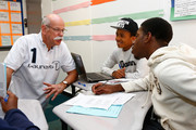 Dieter Zetsche and Edwin Moses Photos Photo