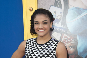 Laurie Hernandez Premiere of Universal Pictures' 'Sing' - Arrivals