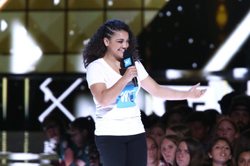Laurie Hernandez Celebs Come Together at WE Day California to Celebrate Young People Changing the World