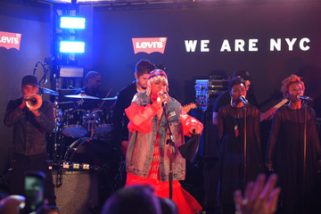 Lauryn Hill Levi's Times Square Store Opening