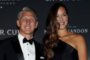 Bastian Schweinsteiger and Ana Ivanovic of Serbia arrive on the Black Carpet during the Laver Cup Gala at the Navy Pier Ballroom on September 20, 2018 in Chicago, Illinois. The Laver Cup consists of six players from Team World competing against their counterparts from Team Europe. John McEnroe will captain Team World and Team Europe will be captained by Bjorn Borg. The event runs from 21-23 Sept.