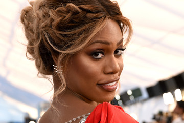 Laverne Cox 25th Annual Screen Actors Guild Awards - Social Ready Content