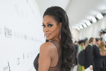 Laverne Cox 25th Annual Elton John AIDS Foundation's Oscar Viewing Party - Red Carpet