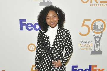 Laya DeLeon Hayes 50th NAACP Image Awards Nominees Luncheon - Arrivals