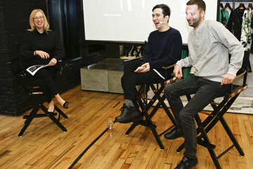 Lazaro Hernandez Cocktails and Conversation With Designers Jack McCollough and Lazaro Hernandez of Proenza Schouler and  Dr. Valerie Steele, Director, The Museum at FIT