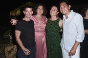 (L-R) Charlie Le Mindu, Chloe Tolmer, Garance Dore and George Fleck attend Garance Doré, founder of Atelier Doré, celebrates Au Soleil:A Summer Soirée by Le Méridien – a global programme that brings the playful glamour of 1960s European Summers to Le Méridien hotels around the world, on July 12, 2018 in Beverly Hills, California.