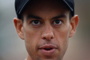 Richie Porte of Australia and the BMC Racing Team attends the Team Presentation ahead of the 2016 Tour de France at on June 30, 2016 in Sainte-Mere-Eglise, France.