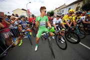 Marcel Kittel of Germany riding for Quick-Step Floors in the green points jersey prepares to start during stage 11 of the 2017 Le Tour de France, a 203.5km stage from Eymet to Pau on July 12, 2017 in Eymet, France.