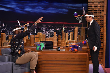 LeBron James LeBron James Visits 'The Tonight Show Starring Jimmy Fallon'