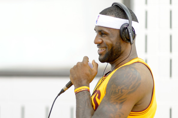 LeBron James - Cleveland Cavaliers Media Day