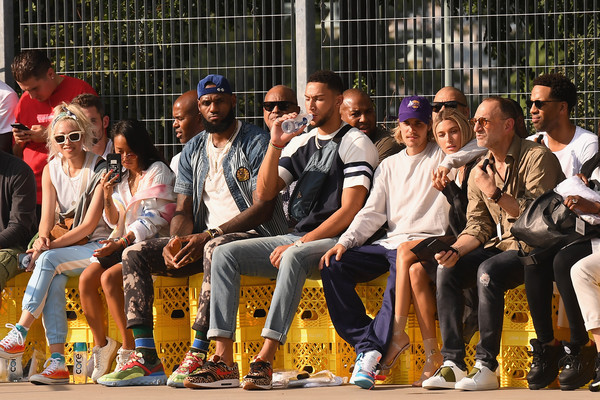 78089a025b9 LeBron James and Justin Bieber Photos»Photostream · Pictures. John Elliott  - Front Row - September 2018 - New York Fashion Week  The Shows