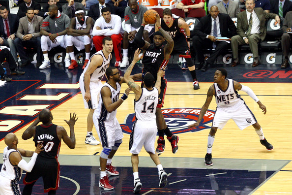 LeBron James Photos - Miami Heat v New Jersey Nets - Zimbio