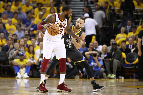 2018 NBA Finals - Game Two [game two,sports,team sport,ball game,player,tournament,basketball player,basketball,basketball moves,sport venue,fan,lebron james,user,user,stephen curry,note,ball,game,nba,finals]
