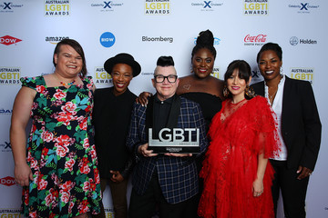 Lea DeLaria Australian LGBTI Awards - Media Room
