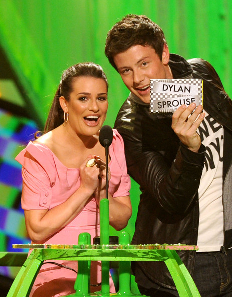 Lea Michele and Cory Monteith Photos Photos - Nickelodeon ...