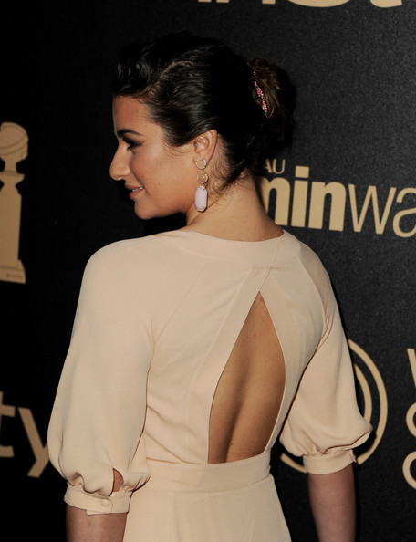 Lea Michele - The Hollywood Foreign Press Association (HFPA) And InStyle Celebrate The 2013 Golden Globe Awards Season
