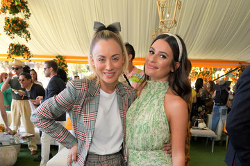 Lea Michele 10th Annual Veuve Clicquot Polo Classic Los Angeles