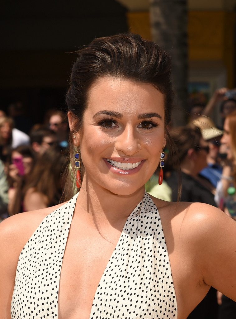 Hair Envy Of The Day: Lea Michele's Not-So Basic Ponytail