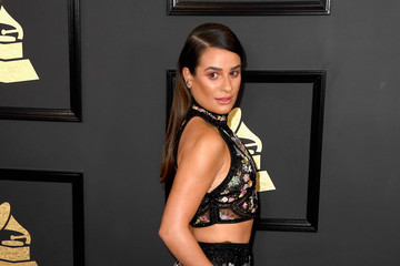 Lea Michele The 59th GRAMMY Awards - Arrivals