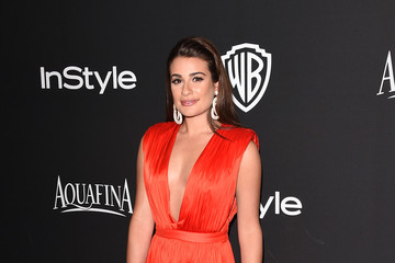 Lea Michele InStyle And Warner Bros. Golden Globes Party — Part 2