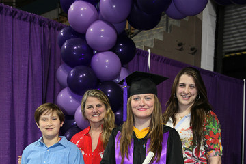 Leah Lane Commencement 2017, College of The Holy Cross: Honors Program