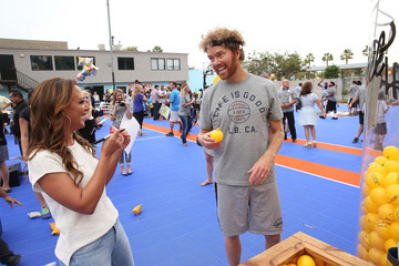 Leah Remini John Jacobs Life is Good Supports Dream Court Opening - BGCLB