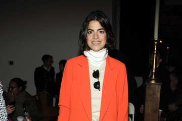 Leandra Medine Thom Browne Women's - Front Row - Mercedes-Benz Fashion Week Fall 2014