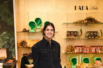Leandra Medine Saks x DADA Daily   Home For The Holidays Pop-Up Launch