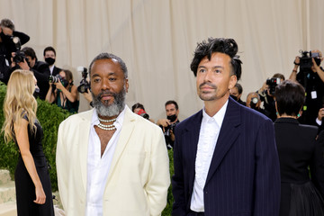 Lee Daniels The 2021 Met Gala Celebrating In America: A Lexicon Of Fashion - Arrivals