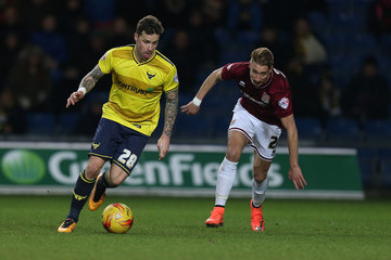Lee Martin Chris Maguire Oxford United v Northampton Town - Sky Bet League Two