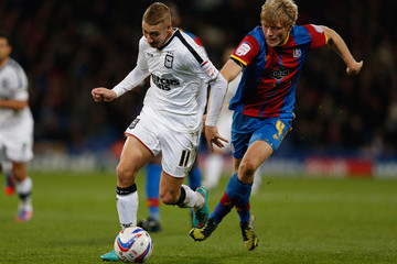 Lee Martin Jonathan Parr Crystal Palace v Ipswich Town - npower Championship