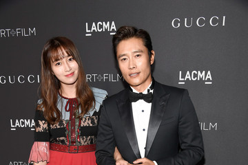 Lee Min-Jung 2016 LACMA Art + Film Gala Honoring Robert Irwin and Kathryn Bigelow Presented by Gucci - Red Carpet