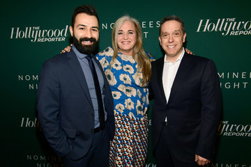 Lee Unkrich Darla K. Anderson The Hollywood Reporter 6th Annual Nominees Night - Red Carpet
