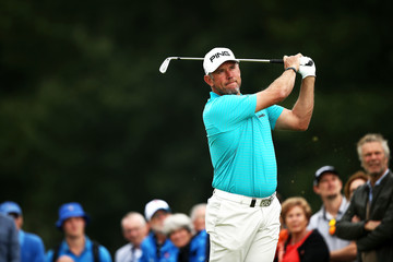 Lee Westwood KLM Open - Day Two