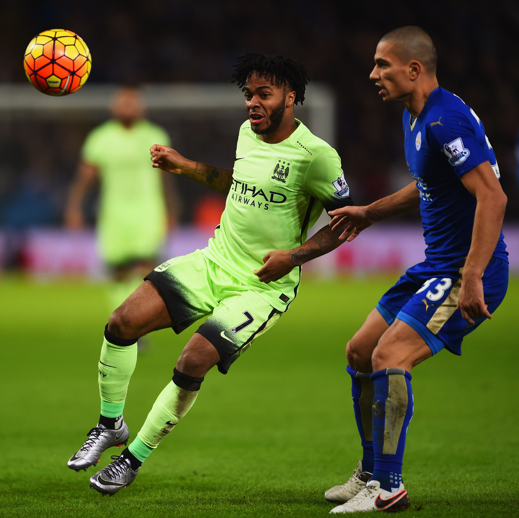 Raheem Sterling s Leicester City v Manchester City