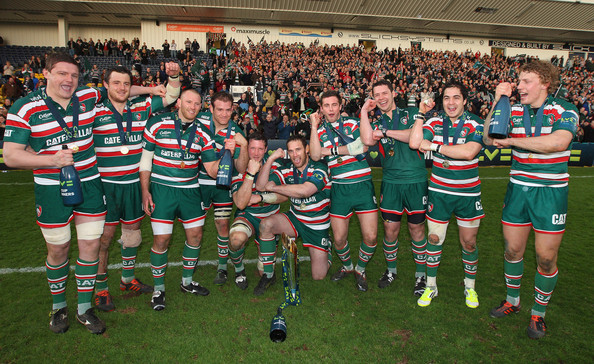 Leicester Tigers Celebrations Photos