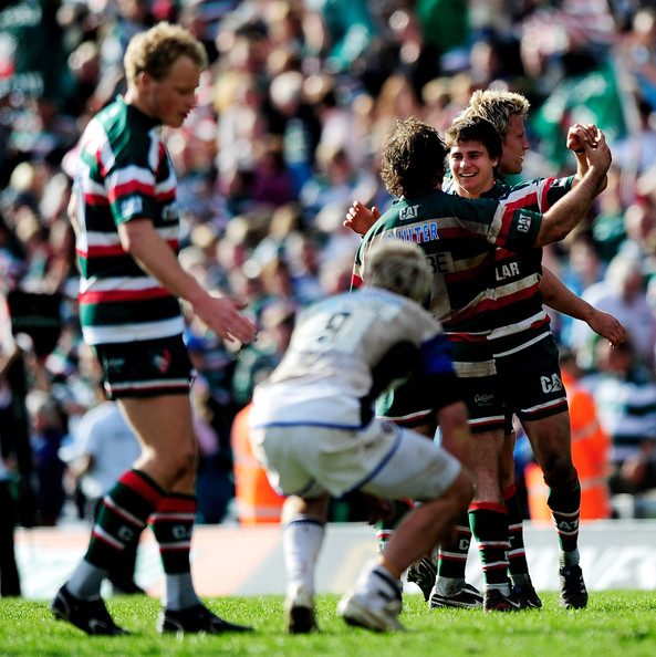 Leicester tigers v bath guinness premiership semi final for G bathrooms leicester