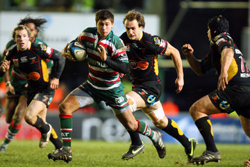 Pat Palmer Leicester Tigers v NG Dragons - LV Anglo Welsh Cup