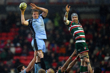 Adriaan Fondse Leicester Tigers v Newcastle Falcons - LV= Cup