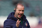 Geordan Murphy, Interim Head Coach of Rugby of Leicester Tigers looks on during the Gallagher Premiership Rugby match between Leicester Tigers and Worcester Warriors at Welford Road Stadium on September 23, 2018 in Leicester, United Kingdom.