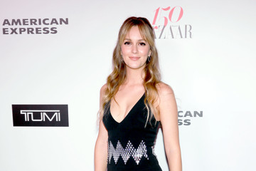 Leighton Meester Harper's BAZAAR Celebrates 150 Most Fashionable Women at Sunset Tower