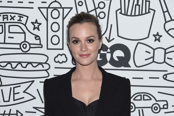Leighton Meester The Saks Downtown Men's Opening